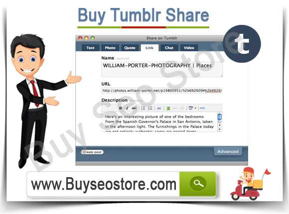 Buy Tumblr Share