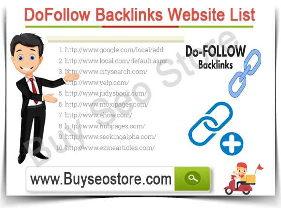 Buy DoFollow Backlinks PR 1-8 Website List