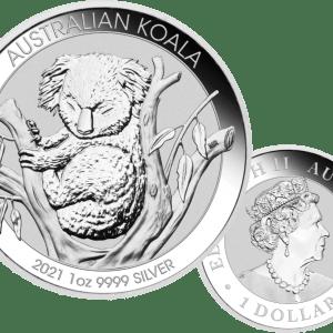 buy-2021-AUSTRALIA-1OZ-SILVER-KOALA-COIN-GEM-BU