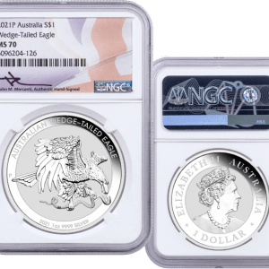buy-2021-AUSTRALIA-1OZ-SILVER-WEDGE-TAILED-EAGLE-MS70-MERCANTI-SIGNED