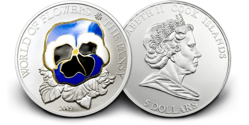 buy-World-of-Flowers-The-Pansy-25g-Silver-Coin-BU-2009