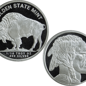 buy 1 10th silver buffalo indian round