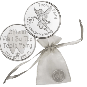 buy TOOTH FAIRY 1/10TH OZ 0.999 SILVER ROUND