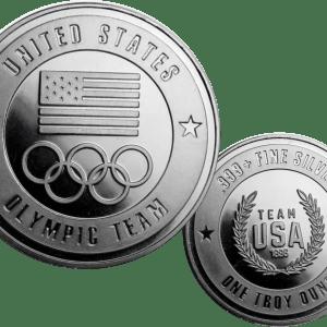 buy 1oz us olympic team heritage piece