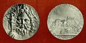 olympic medal 1896