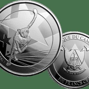 Buy 2019 1oz silver cameroon cheetah coin