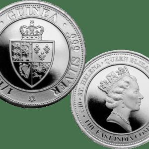 buy 1/10th oz silver guinea shield coin