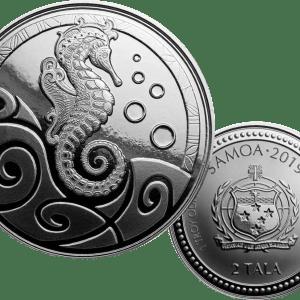 buy 2019 samoa seahorse silver 1oz coin
