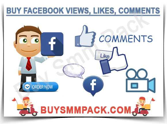 Buy Facebook Views, Likes, Comments