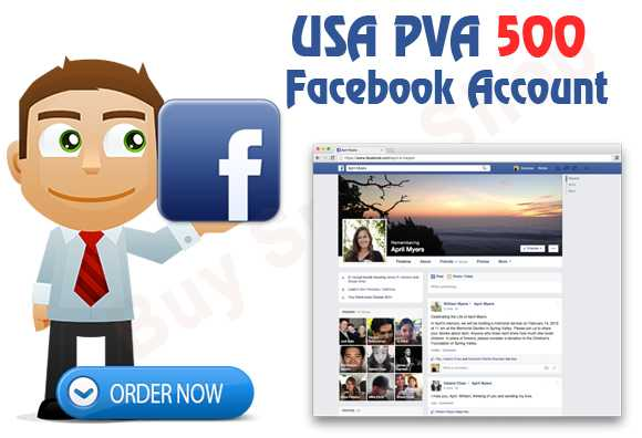 Buy Facebook USA Pva Account