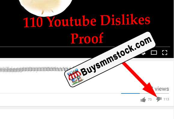 110 Youtube Dislikes