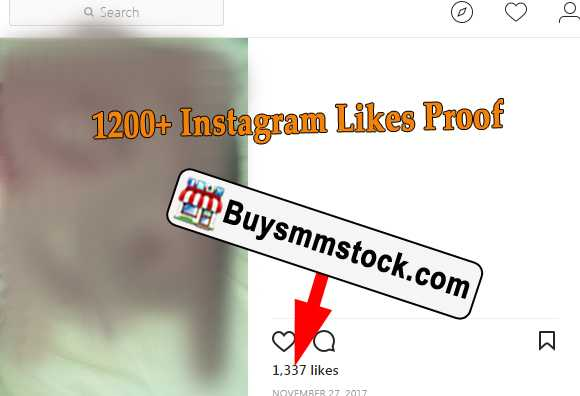 1200+ Instagram Likes Proof