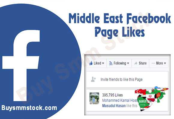 Buy Middle East Facebook Page Likes