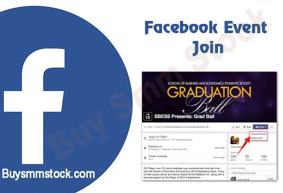 Facebook Event Join