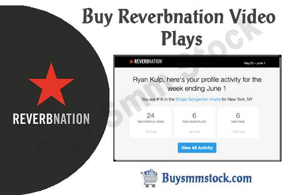Buy Reverbnation Video Plays