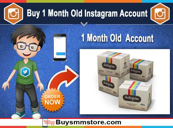 Buy 1 Month Old Instagram Account