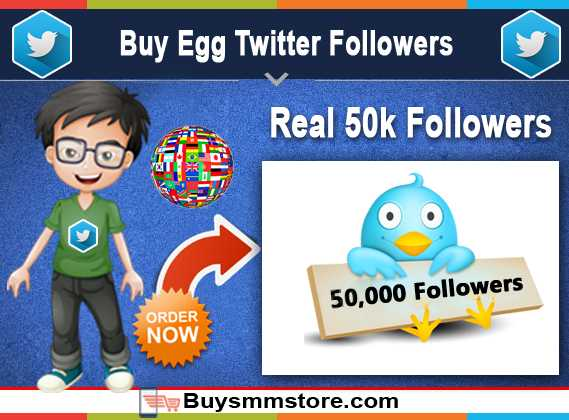 Buy Egg Twitter Followers