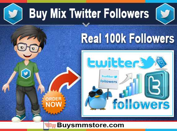 Buy Mix Twitter Followers