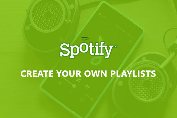 Create your own playlists
