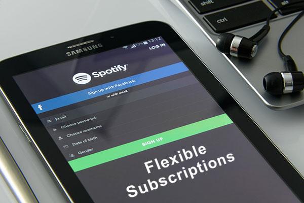 Flexible subscriptions services