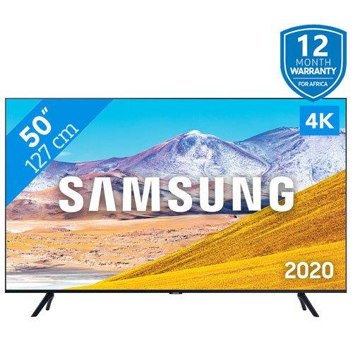"""FLATSMART LED TV,Samsung 50"""" 4K UA-50TU8000 UHD 4K FLAT SMART LED TV: SERIES 8, Samsung 50 4K UA-50TU8000,"""