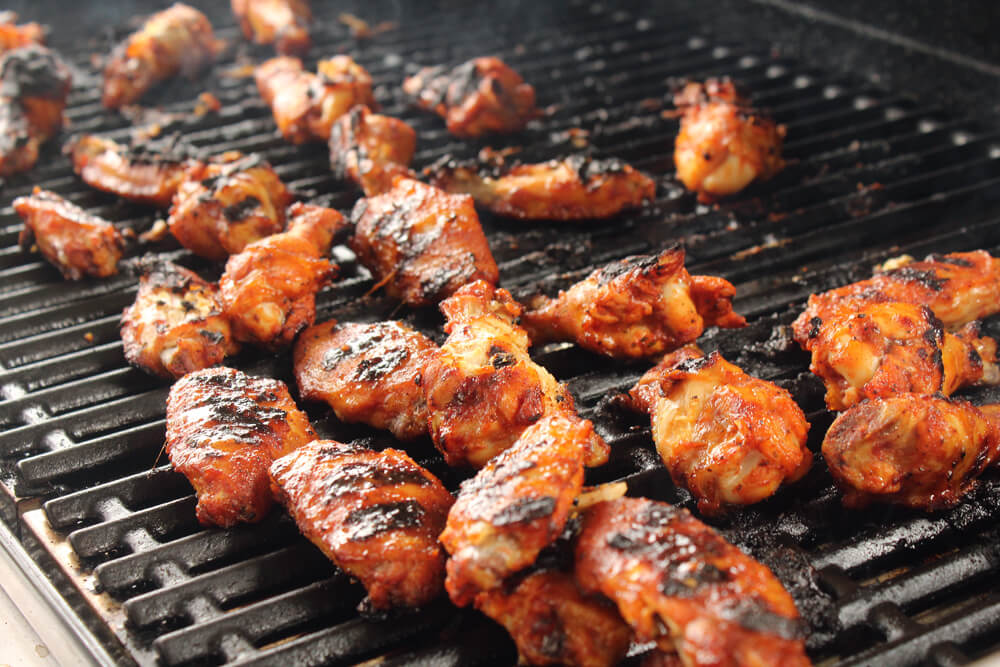 Grilled BBQ Chicken Wings  #bbqchickenwings #chickenwings #grilledchickenwings #chickenwingrecipe