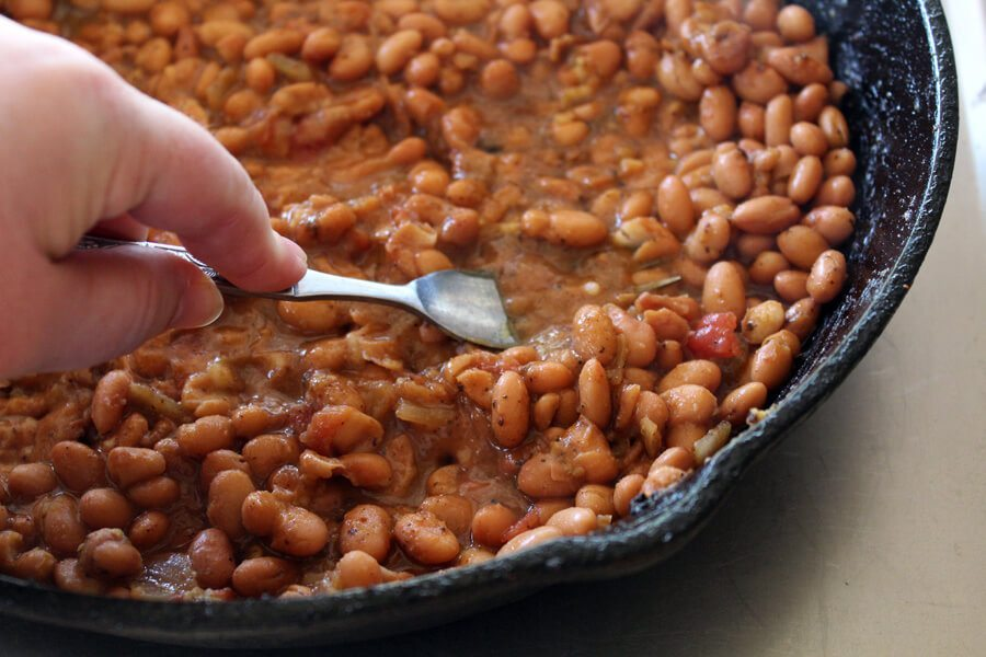 Homemade Refried Beans are fast, easy, and soooo much better than the canned version. Try this now!