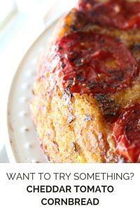 Cheddar Tomato Cornbread