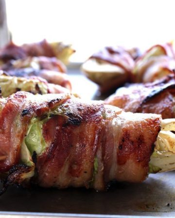 One of the most popular recipes on our blog, and one of my personal favorites: Bacon Wrapped Grilled Cabbage.