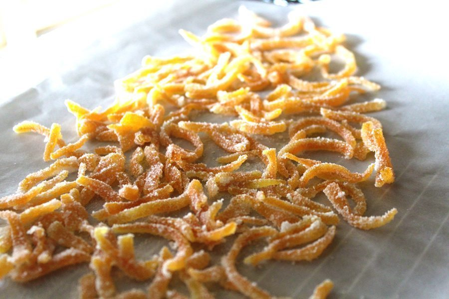 Candied Sugar Orange Peel