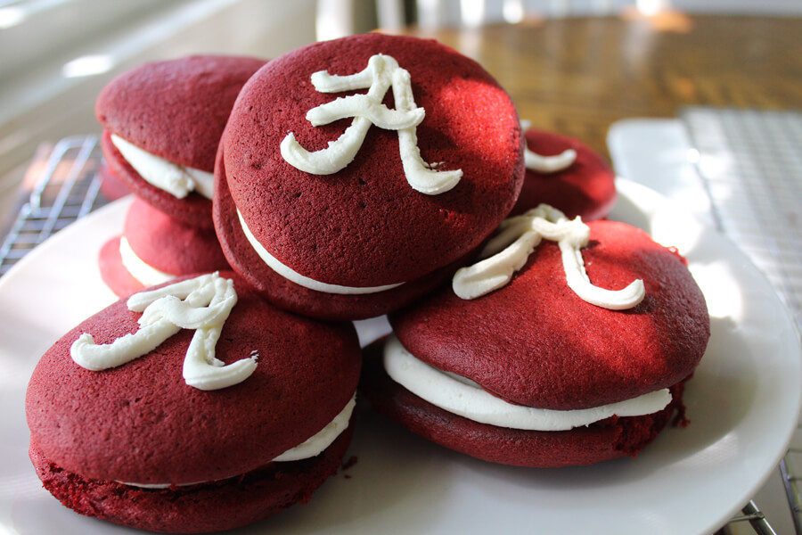 Big Al's Red Velvet Whoopie Pies - Alabama Tailgate