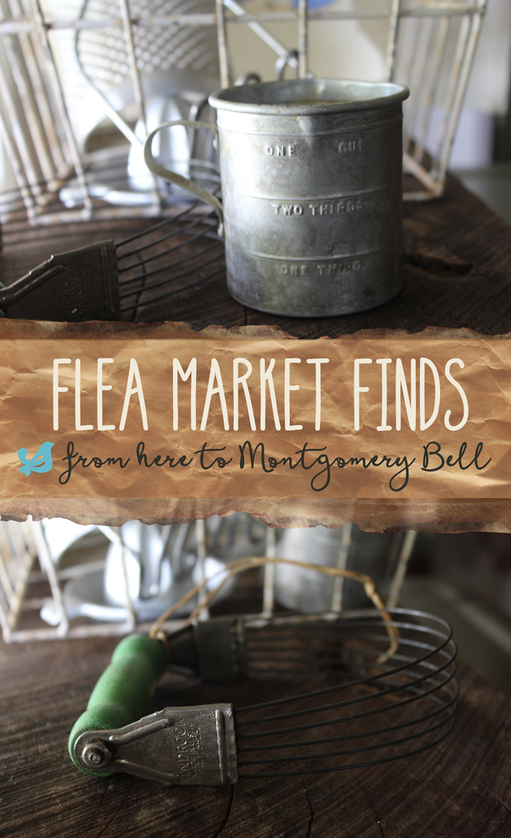 Flea Market Finds along our drive from our home to Montgomery Bell State Park in Tennessee. Vintage kitchen items, decor, and more. (And ideas for you!) buythiscookthat.com/flea-market-finds-1/