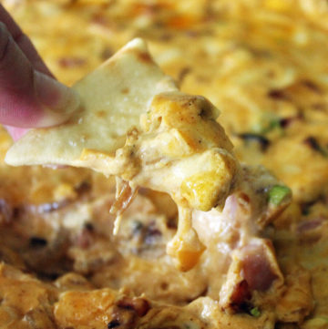 Wooo Pig Sooie! Hot Ham Dip - Arkansas Tailgate