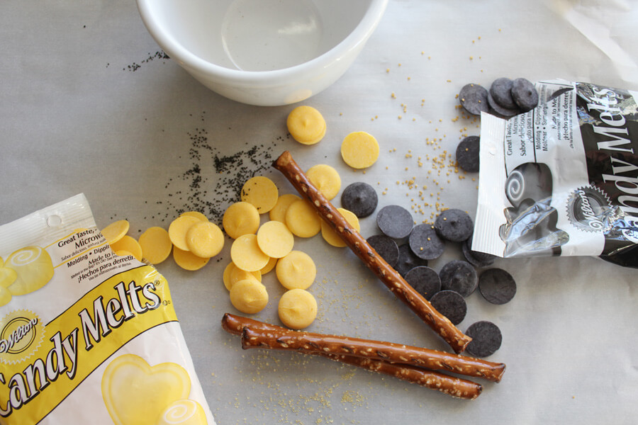 Tiger Tail Candy Coated Pretzel Sticks - Mizzou Tailgate