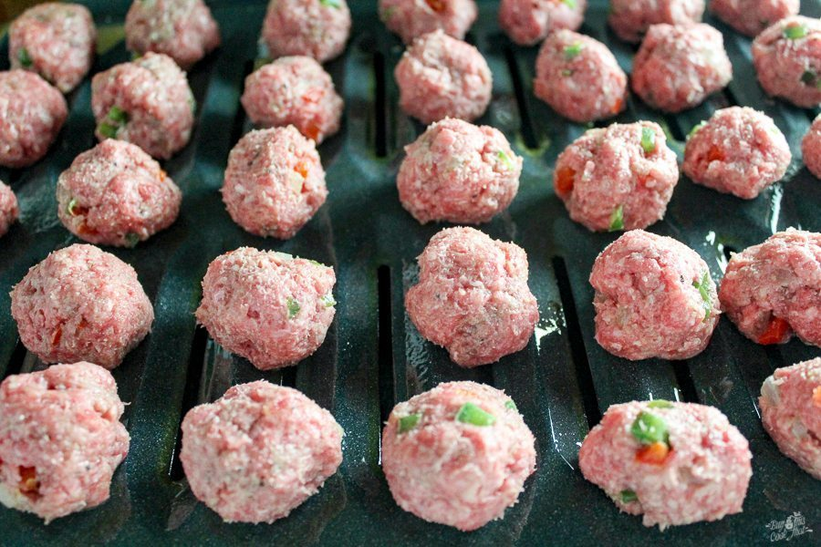 Chili Cranberry Crockpot Meatballs