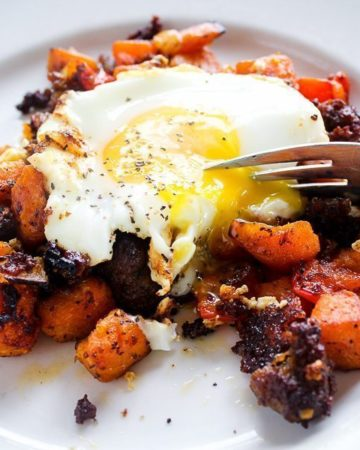 Sweet Potato Sausage Brunch