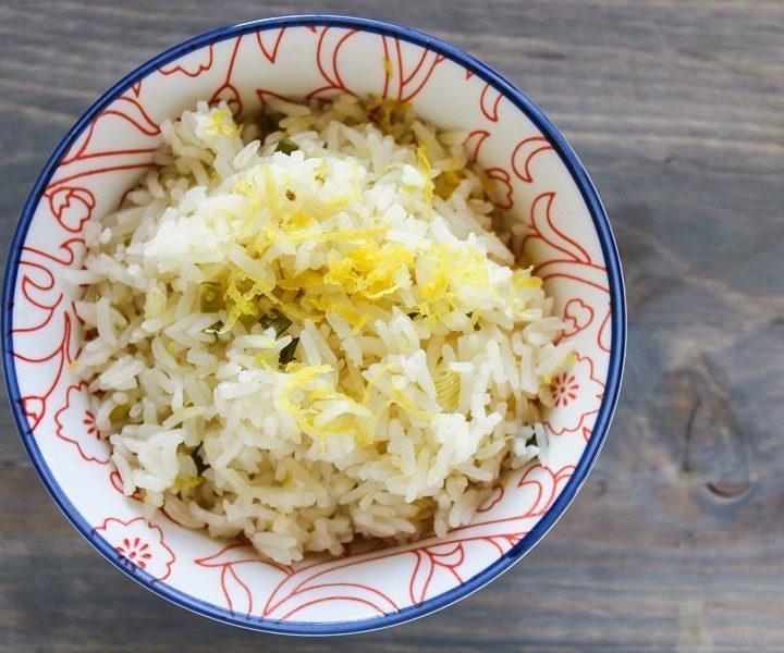 Baked Lemon Rice