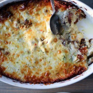 Jacked Up Potatoes Au Gratin Recipe