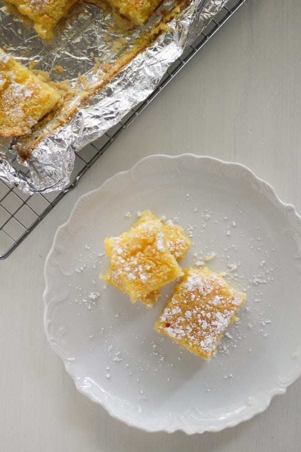 Citrus Orange Lemon Bars are a sweet treat bursting with bright citrus flavor. We put a twist on classic lemon bars and brought some orange to the party.
