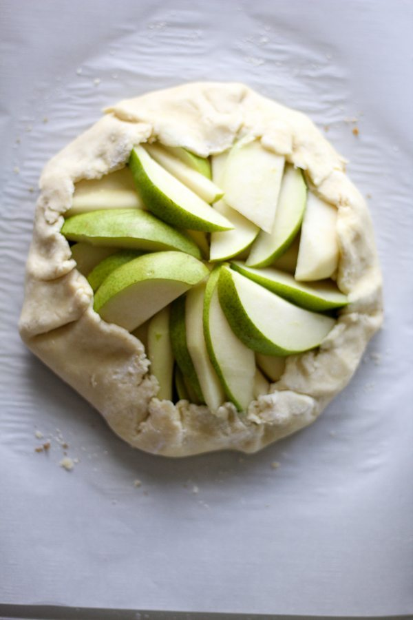 Fresh pears wrapped in a buttery, flaky pie crust