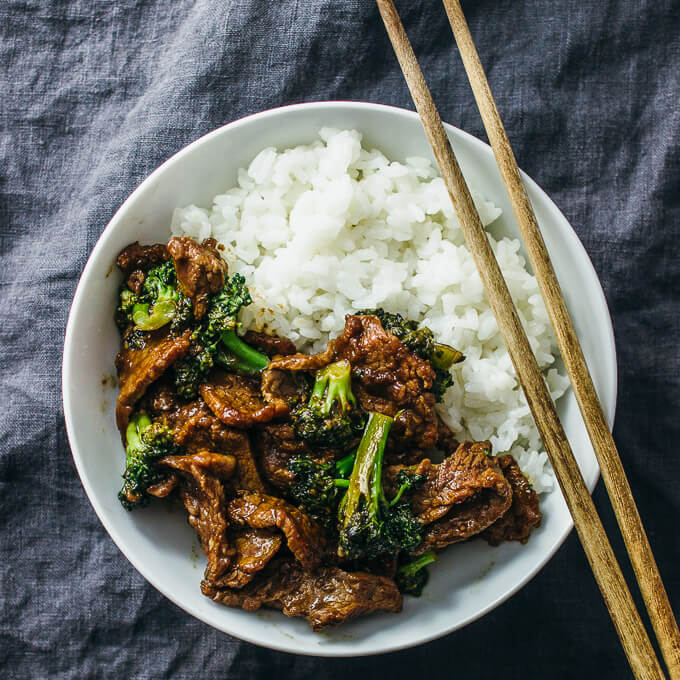 Weeknight Dinner Recipes Crazy Good Beef and Broccoli by Savory Tooth
