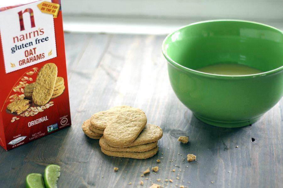 Gluten free oat graham crackers