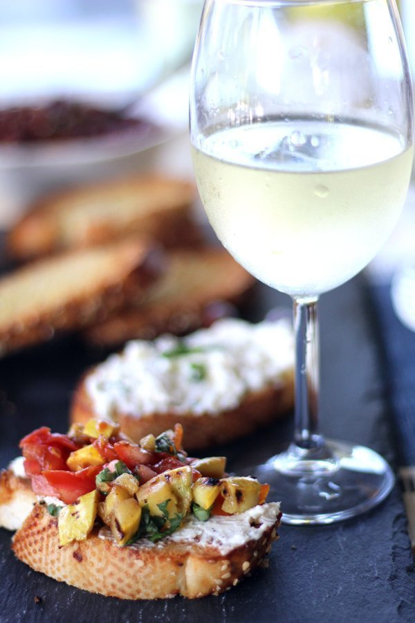 Summer Bruschetta Three Ways