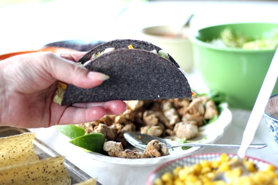 With not enough time to get everything done, and even less time to prepare meals, you need go-to recipes like this 30-Minute Taco Night to keep the family fed and connected. So grab a few grocery items and blow off some Back-To-School steam with a fun-filled family fiesta.