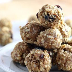 No Bake Almond Oatmeal Energy Bites - Top 10 Recipes of 2017