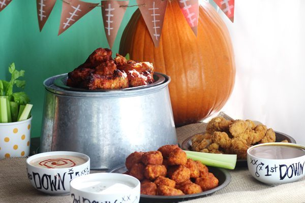 Get tips on how to throw a Football Party at home on a dime.