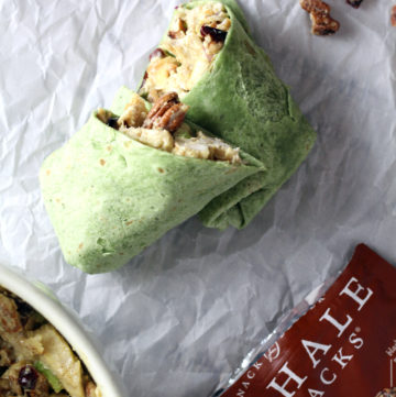 Pecan Chicken Wraps
