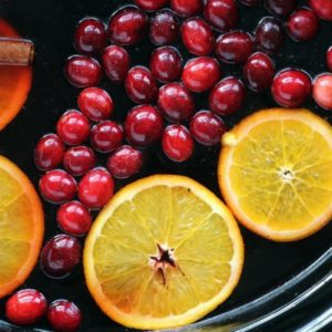 Spiced Cranberry Apple Cider