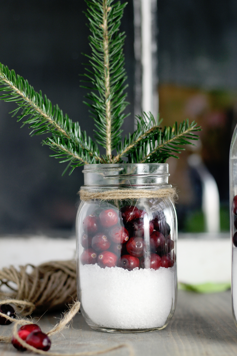 Easy and gorgeous, this rustic Christmas decor is so simple.