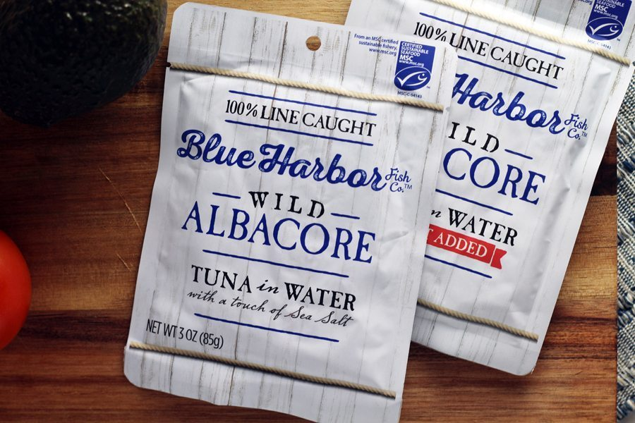 Made with 100% Line Caught Albacore Tuna, Blue Harbor Fish Co. is the best tuna brand for our tuna melt recipe.